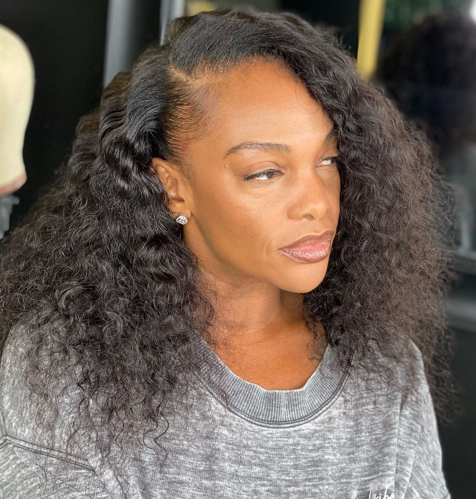 Perfect Naturally Curly Full Sew In