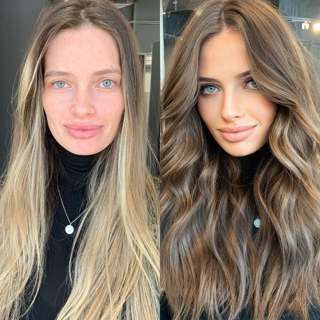 Returning to Natural Dark Blonde Hair Hue