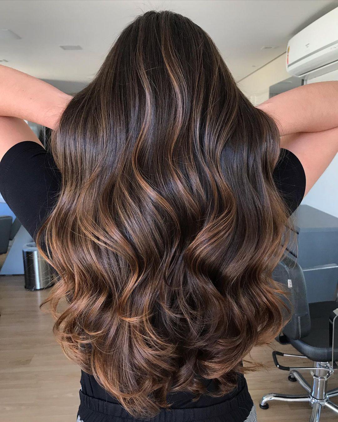Partial Sun-Kissed Balayage Hair