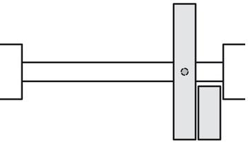 ferrure pour portes coulissante pliante
