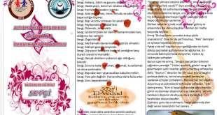 Sevgi Konulu Broşür – Değerler Eğitimi