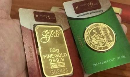 Dinar atau jongkong emas