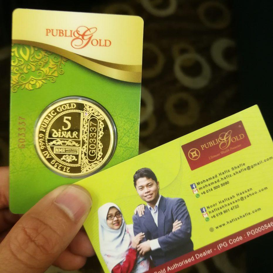 Dinar Public Gold design baru