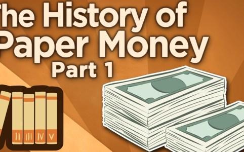 sejarah wang kertas