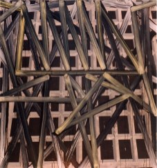S/T. Acrílico y óleo sobre lienzo, 180x195. 1999.