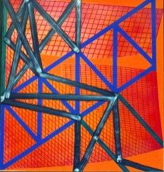 S/T. Acrílico y óleo sobre lienzo, 180x195. 1999. Colección de BilbaoArte.