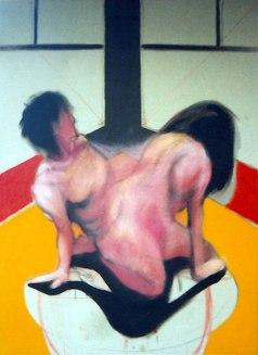 Desnudos. Óleo sobre lienzo, 100x80. 1994.