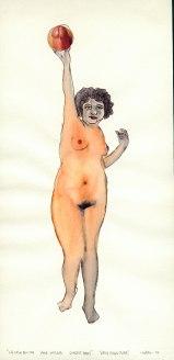 S/T. Dibujo sobre papel 31x22. 1995.