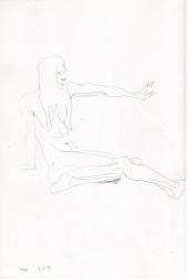 Dibujo del cuaderno de dibujos de Maidstone, UK,1996.