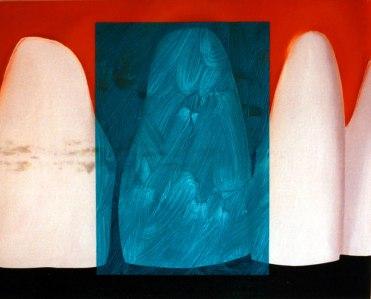 Acrílico y óleo sobre lienzo, 35x50. 2002.