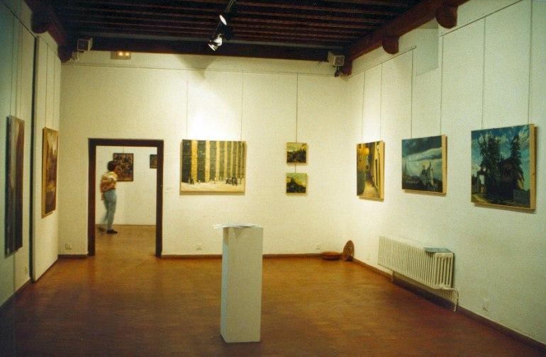 Exposición en Segovia, 1997. Becarios de El Paular.
