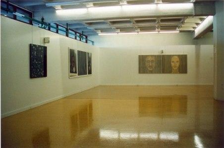 Exposición en la sala de la UPV, 1996.