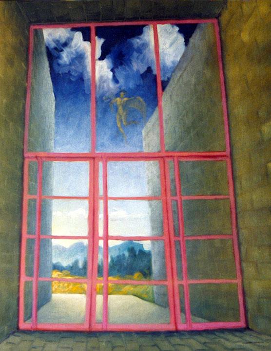 S/T. Óleo sobre lienzo, 65x90. 1996.