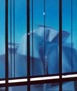 Museo Guggenheim Bilbao. Óleo sobre lienzo, 35x27. 1997.