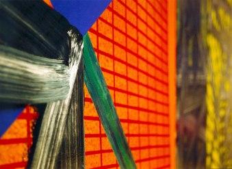 S/T. Acrílico y óleo sobre lienzo, 180x195, detalle. 1999. Colección de BilbaoArte.