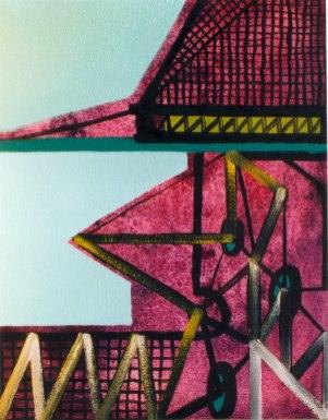S/T. Acrílico y óleo sobre lienzo, 35x27. 1999.