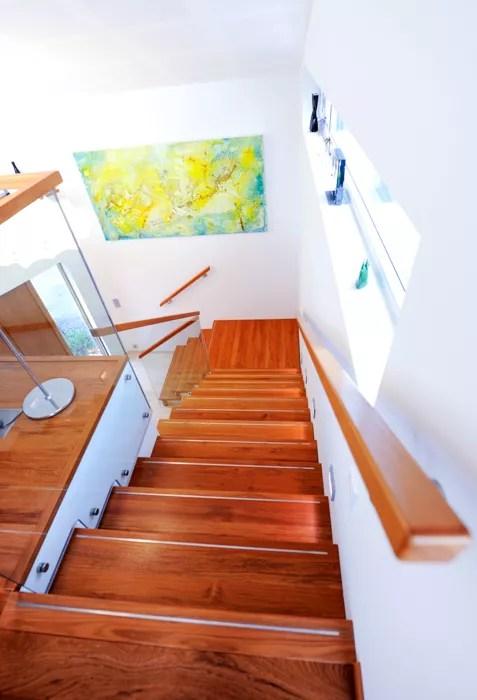 Foldetrapp med glass-2535
