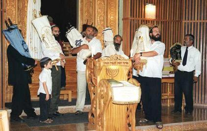 מנהגי הקהילות בשמחת תורה - איגוד בתי הכנסת העולמי
