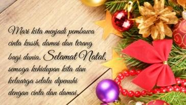 Kumpulan kata-kata terbaik ucapan selamat natal 2017 yang kekinian