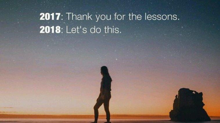 Selamat tahun baru 2018, happy new year!