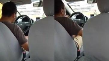 Naik taksi online terjebak macet, pria ini kaget melihat yang dilakukan sang driver