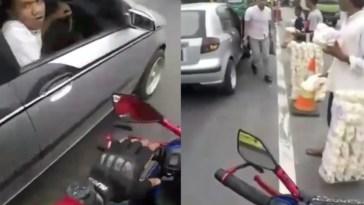 Ditegur karena nggak mau beri jalan untuk ambulance, pria ini malah marah dan ngaku TNI