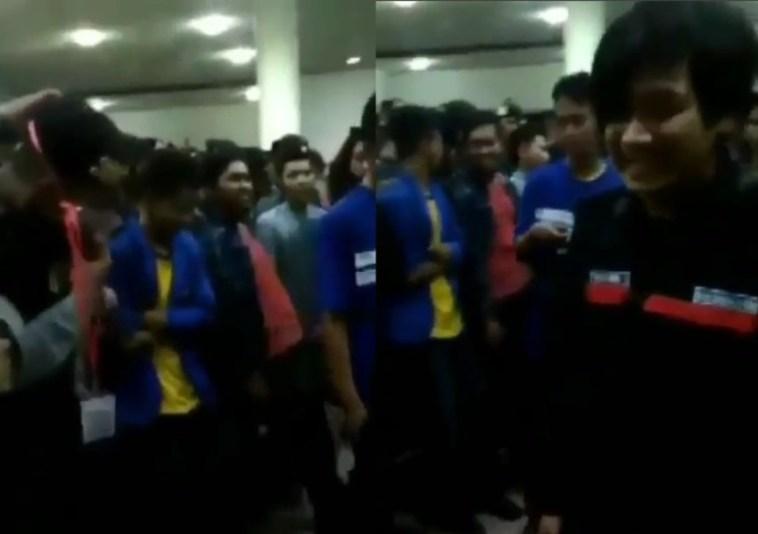 Heboh video mahasiswa caci maki polisi, aksinya bikin netizen geram, udah viral baru minta maaf!