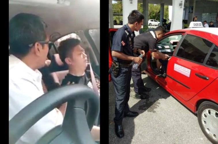 Penumpangnya tidur nggak bangun-bangun, sopir taksi ini dibikin kesel sampai minta bantuan polisi