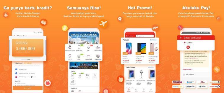 Cara daftar Akulaku, belanja online dengan cicilan tanpa kartu kredit