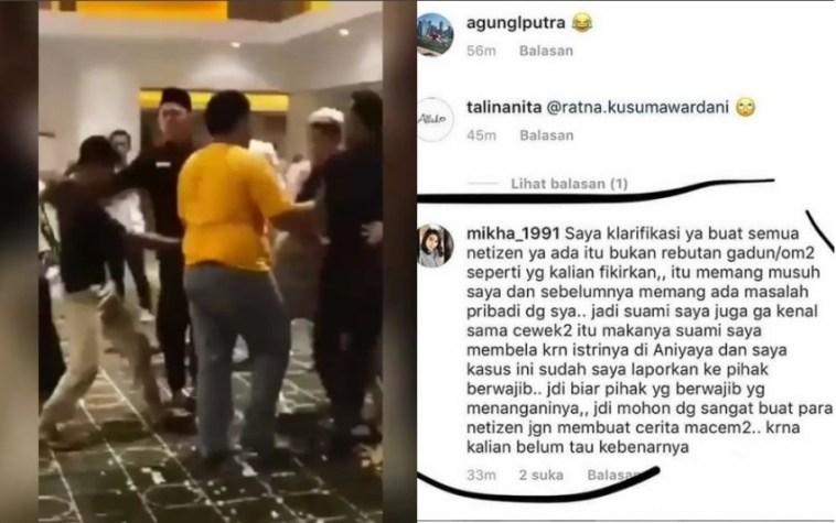 Terlibat adu mulut di bioskop Banjarmasin hingga sempat dikira pelakor, sosok wanita di video viral itu beri klarifikasi