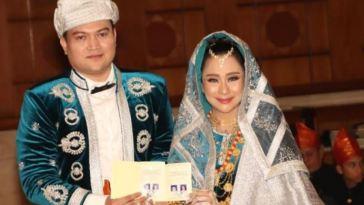 Dipersunting Indra Adithiya, Chikita Meidy langsungkan pernikahan dengan Adat Minang