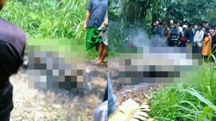 Ngeri! Tertangkap saat beraksi, pencuri motor di Probolinggo dibakar hidup-hidup oleh warga