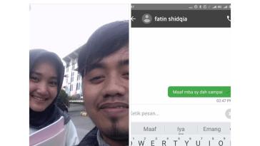 Dapet orderan dari Fatin Shidqia, curhatan driver ojek online ini viral