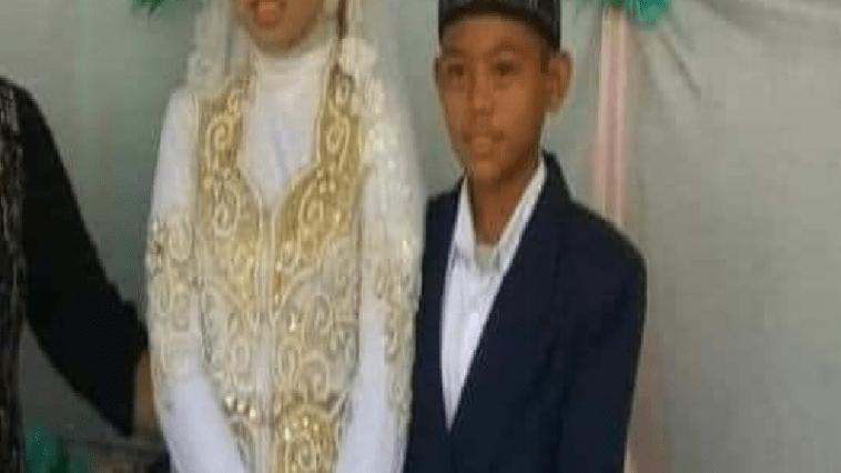 Viral, sepasang bocah ABG di Tapin Kalses nikah muda
