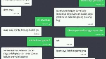 10 Chat percakapan gokil antara driver ojek online dengan penumpangnya ini kocak abis