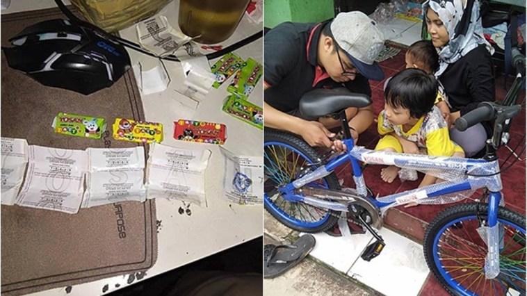 Bertahun-tahun jajan permen karet Yosan, pria ini akhirnya menemukan huruf 'N' dan dapat hadiah sepeda BMX