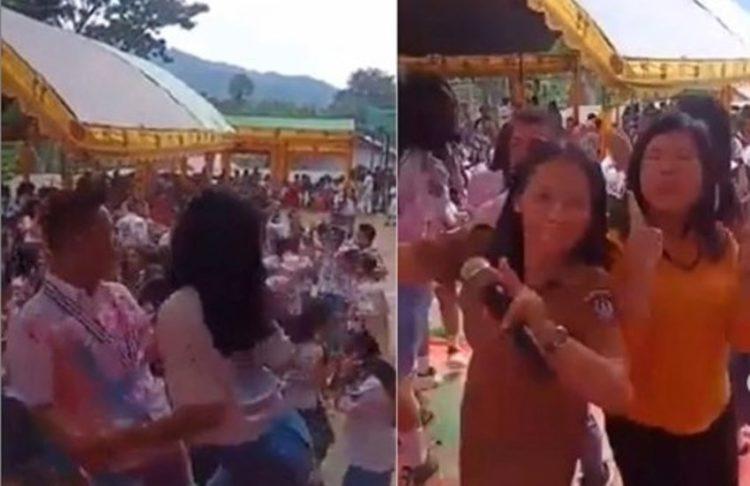Rayakan kelulusan dengan berjoget diiringi musik DJ, aksi siswa SMAN 2 Makale Tana Toraja ini viral