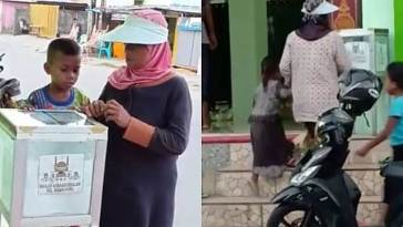 Viral, beredar video pemulung bersedekah di mesjid, indahnya berbagi selama Ramadhan