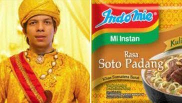 Kumpulan foto lucu Atta Halilintar vs bungkus Indomie, cari tau persamaannya yuk!