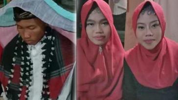 Modal mahar 10 ribu, pria asal Kalimantan Barat ini nikahi dua wanita sekaligus