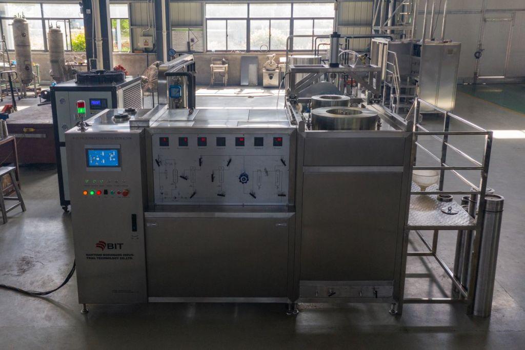 alkaloids supercritical CO2 extraction machine