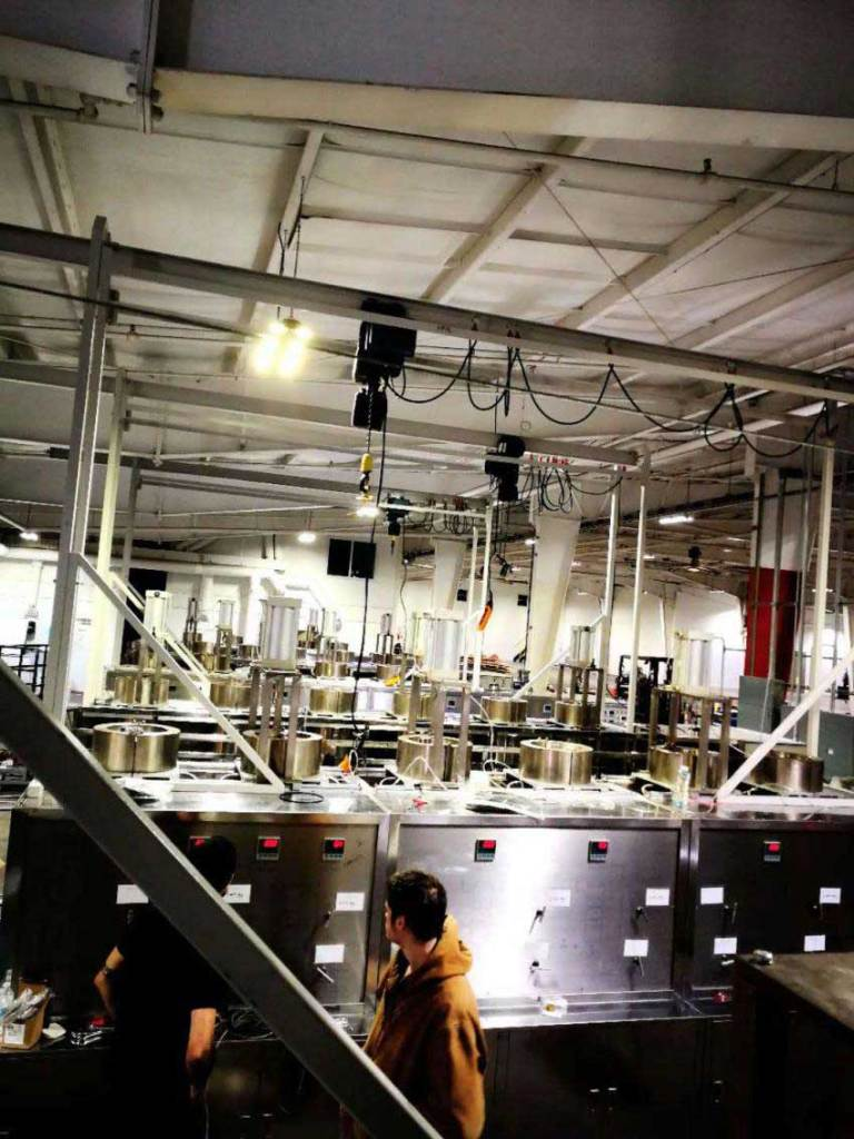 Cannabis supercritical CO2 extraction machine