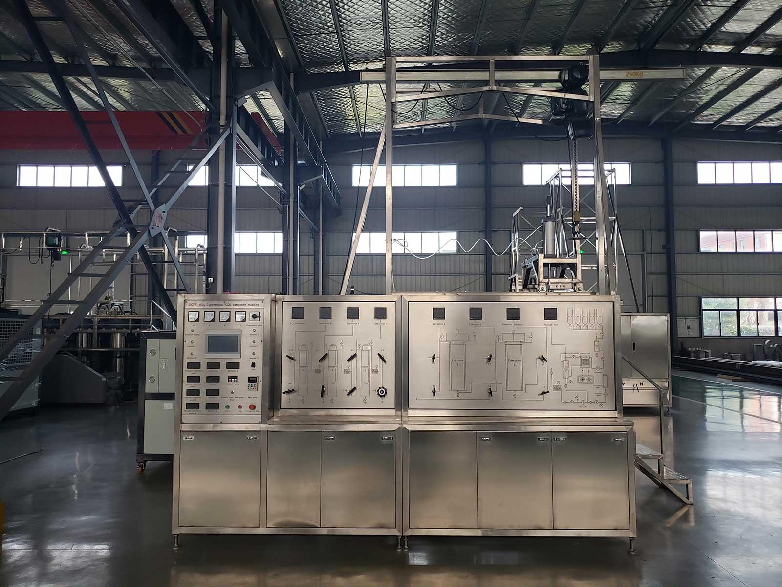 100L Supercritical CO2 Extraction Machine
