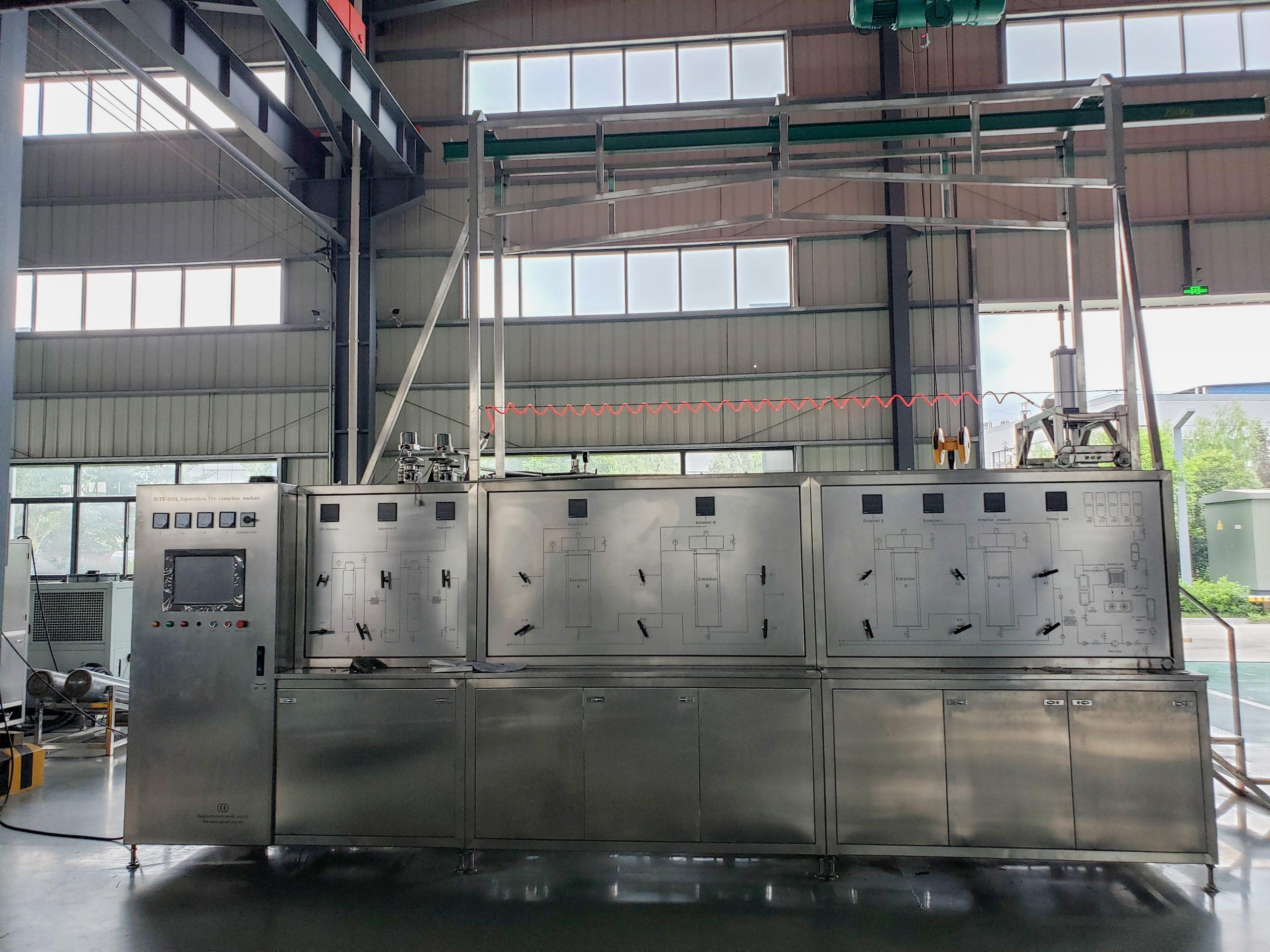 200L Supercritical CO2 Extraction Machine