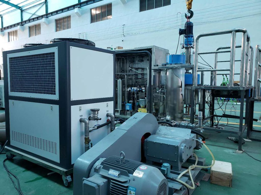 supercritical CO2 cleaning system