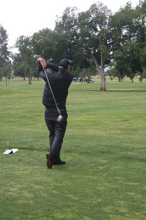Solitary Golfer