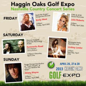 2013 Golf Expo Country Concert Series