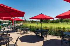 The patio at MacKenzie's Sports Bar & Grille