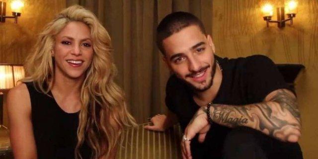 Video entre Shakira y Maluma