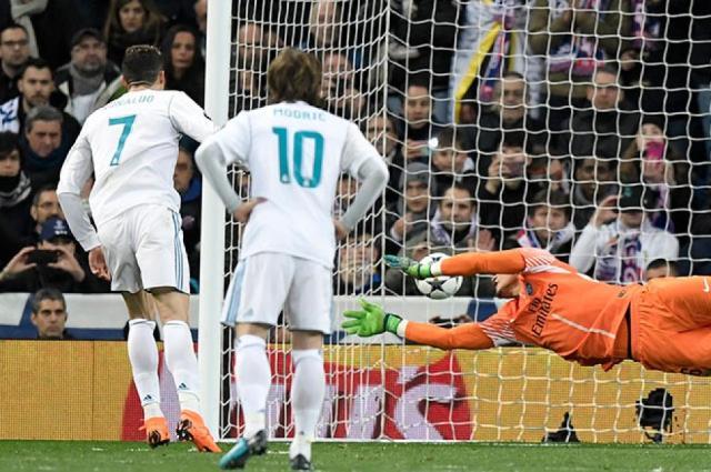 penalti de Cristiano Ronaldo